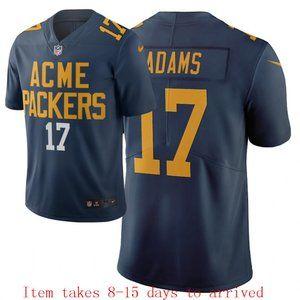 Packers #17 Davante Adams Jersey City Edition
